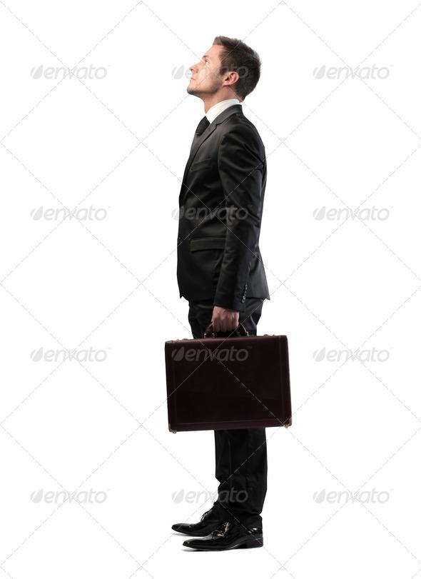 Businessman Profile - Stock Photo - Images