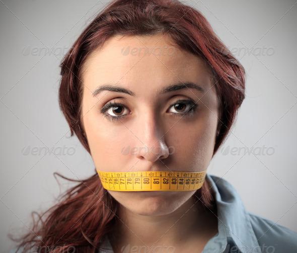 Shut Up - Stock Photo - Images