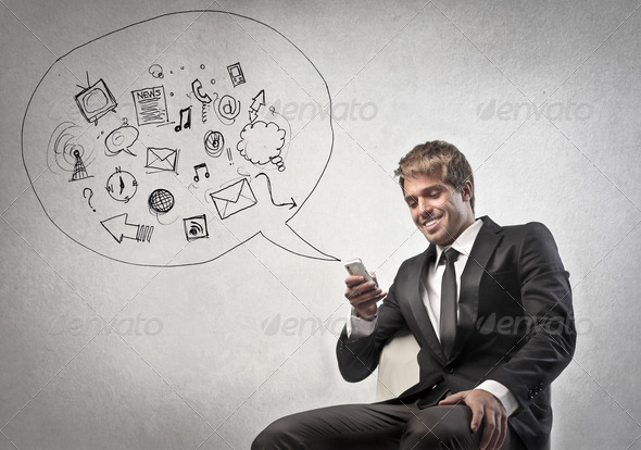 Business Mobile Phone - Stock Photo - Images