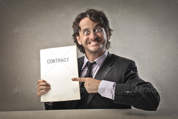 Business Contract - Stock Photo - Images