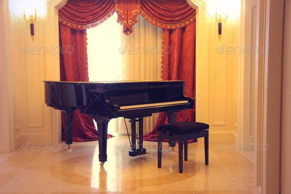 Pianoforte - Stock Photo - Images