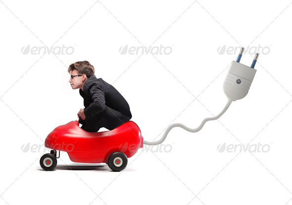 Little Car Socket - Stock Photo - Images