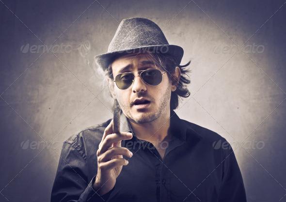 Member of the Mafia - Stock Photo - Images