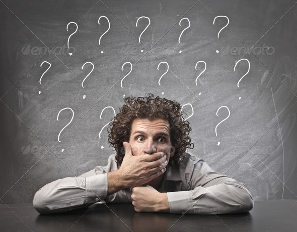 Question Marks - Stock Photo - Images