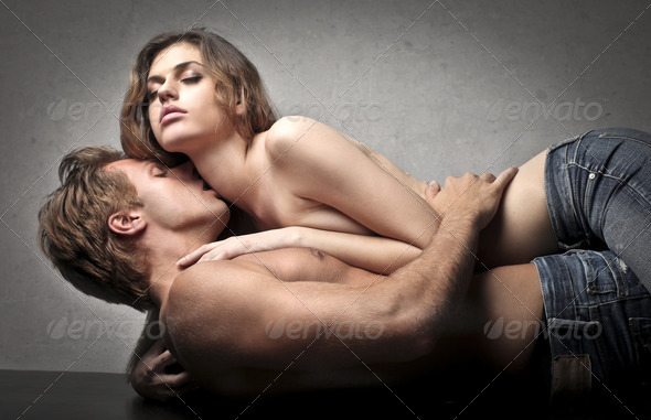 Erotic Kiss - Stock Photo - Images