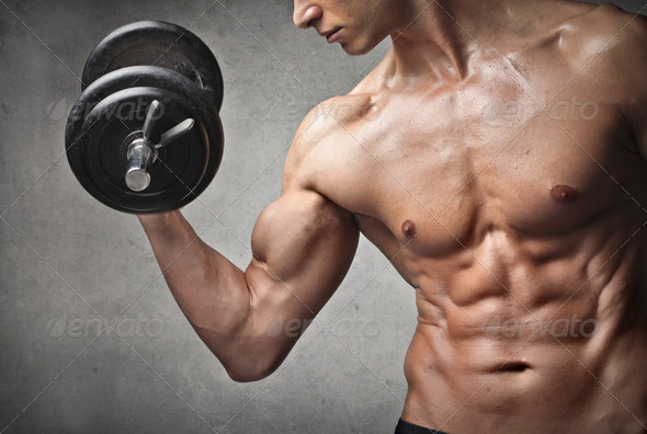 Muscles - Stock Photo - Images