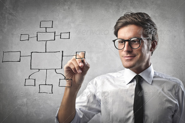Business Diagram - Stock Photo - Images