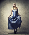 Blue Dress - PhotoDune Item for Sale