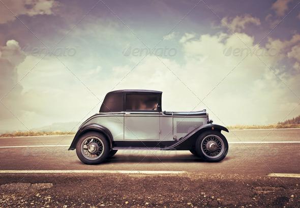 Vintage Car - Stock Photo - Images