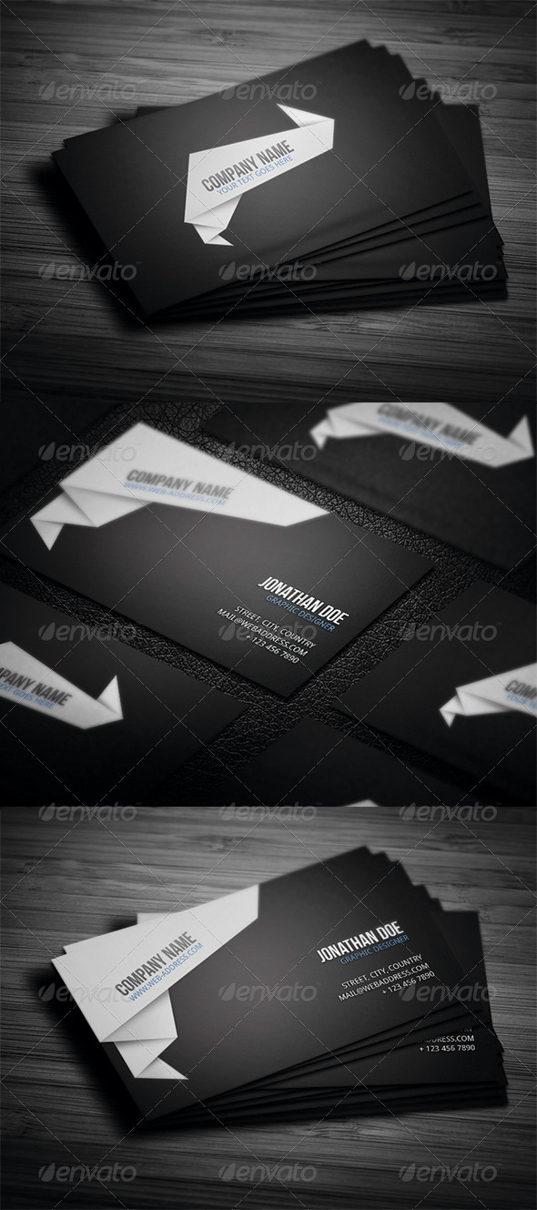 Corporate Business Card N4 - Corporate Business Cards