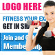 Physical Fitness Banner - GraphicRiver Item for Sale