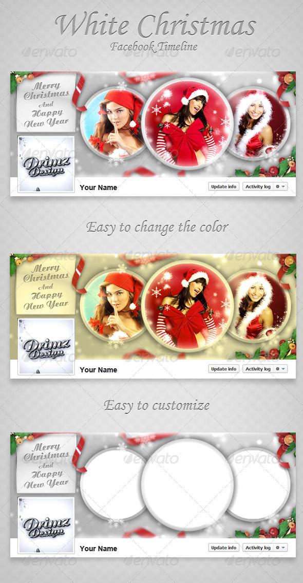 Christmas Facebook Timeline V3 - Facebook Timeline Covers Social Media