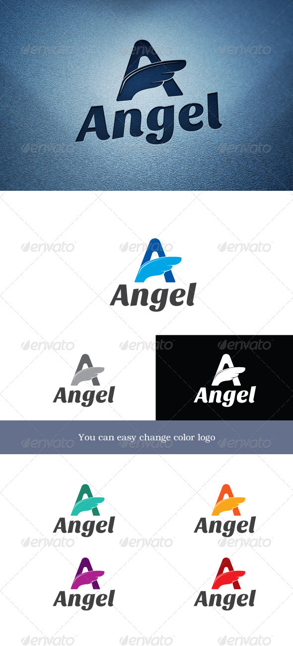 Angel - Letters Logo Templates