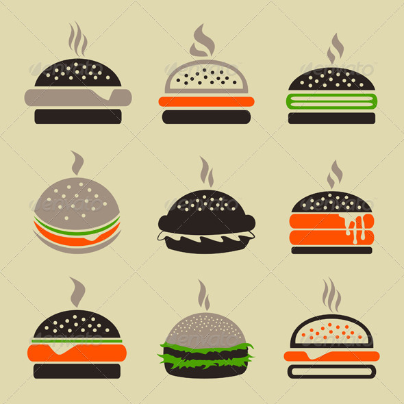 Hamburger 2 - Food Objects
