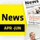 April - June Clean Newsletter V2 - GraphicRiver Item for Sale