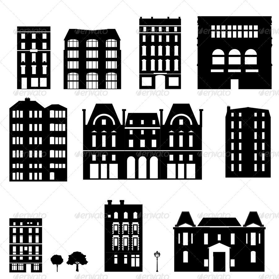 Paris Urban Symbols By Es-gi-tau