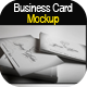 Business Card Mock-up Smart Template Pack - GraphicRiver Item for Sale