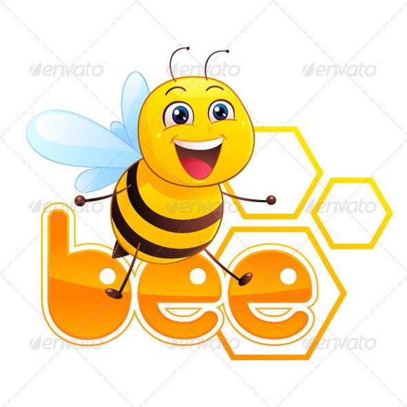 Bee Mascot - Animals Characters