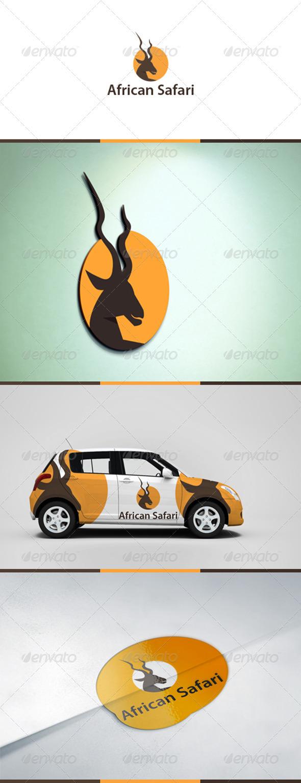 African Safari - Animals Logo Templates