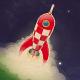 Retro Space elements - GraphicRiver Item for Sale