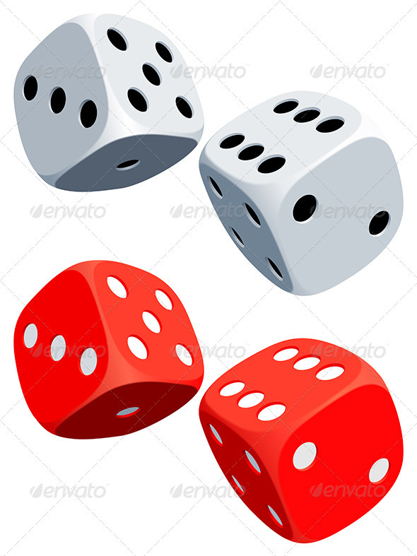 Dices - Objects Vectors