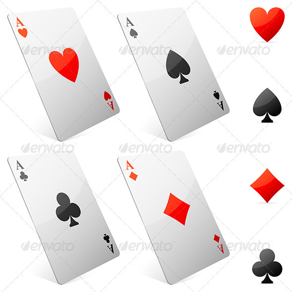 Game Cards - Objects Vectors