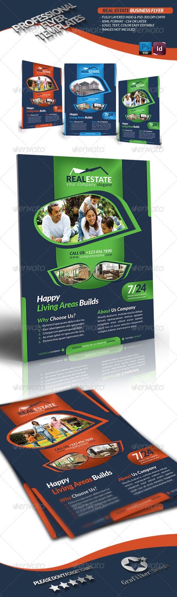 Real Estate Business Flyer  - Commerce Flyers