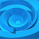 Orbiting Blue Rings  - VideoHive Item for Sale