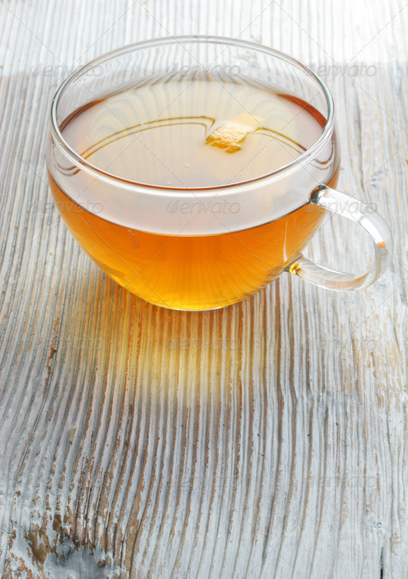 Orange tea - Stock Photo - Images