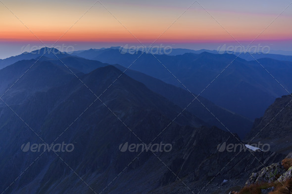 Fagaras Mountains - Stock Photo - Images