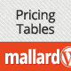 Mallard – Premium Pricing Tables Widget