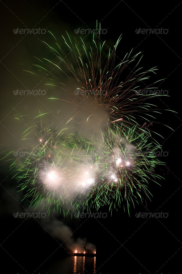 Fireworks  - Stock Photo - Images