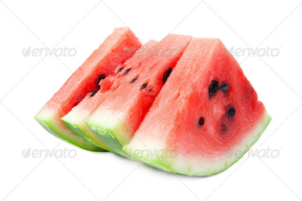 Slices of watermelon - Stock Photo - Images