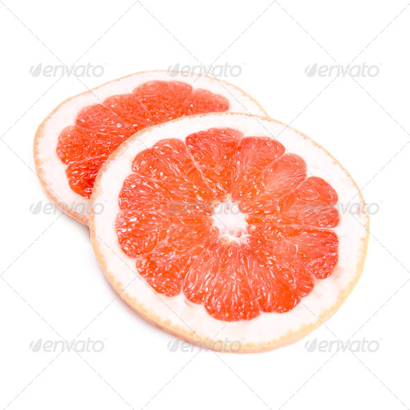 Grapefruit segments - Stock Photo - Images