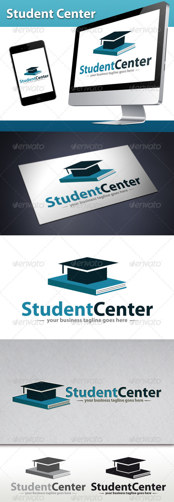 Student Center Logo - Objects Logo Templates