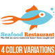 Seafood Restaurant Logo - GraphicRiver Item for Sale