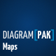 Diagrampak Maps Presentation - GraphicRiver Item for Sale