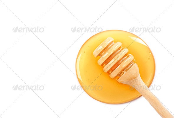 Honey dipper - Stock Photo - Images