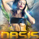 Oasis Party On flyer - GraphicRiver Item for Sale