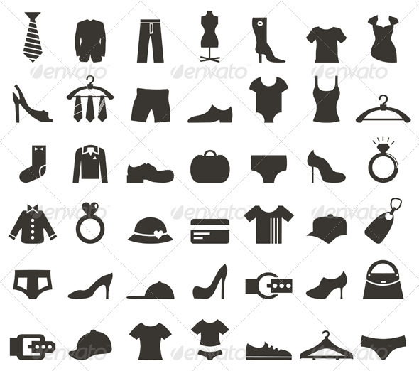 Clothes Icon - Miscellaneous Vectors