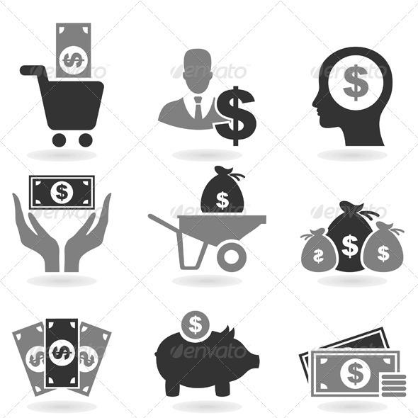 Dollar Icon - Business Conceptual