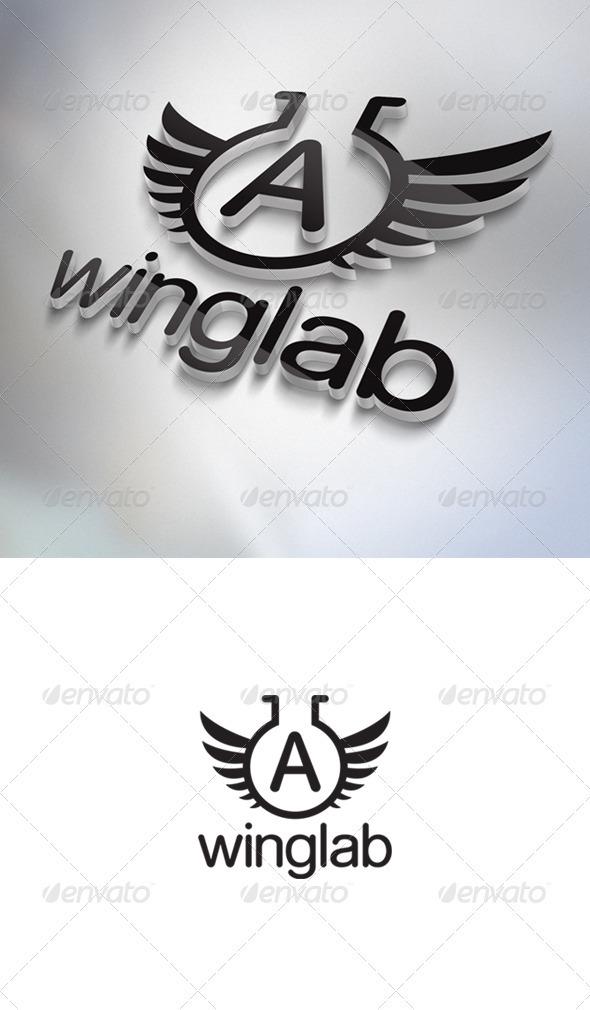 Winglab Logo - Letters Logo Templates