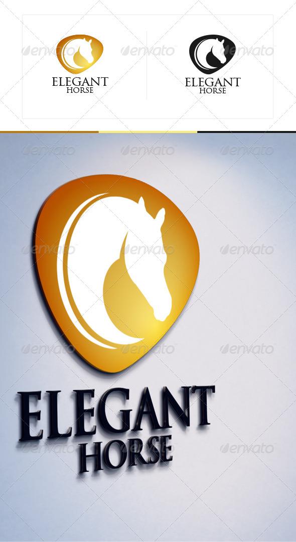 Elegant Horse - Animals Logo Templates