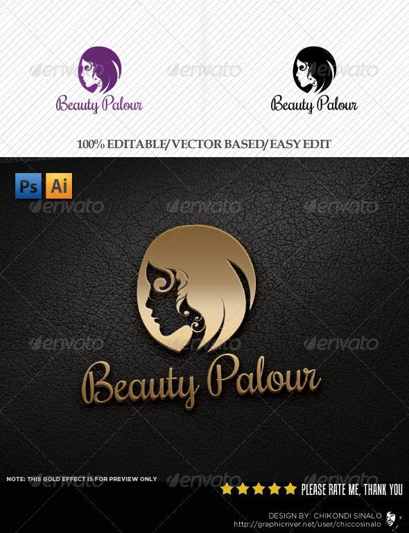 Beauty Palour Logo Template - Abstract Logo Templates