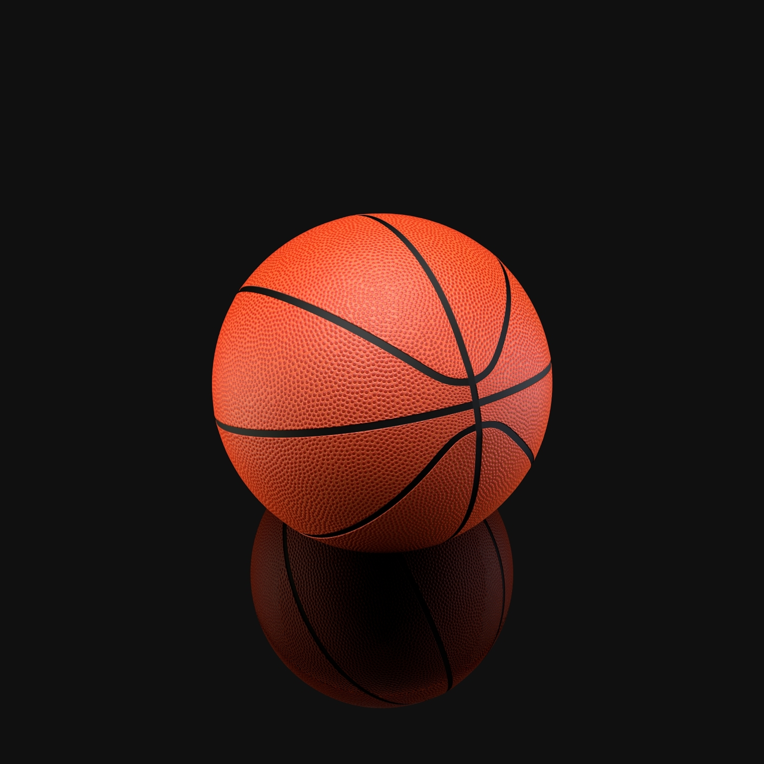 Basketball Ball By Reticulum 3docean