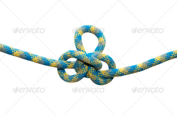 Sea knot. Austrian conductor. - Stock Photo - Images