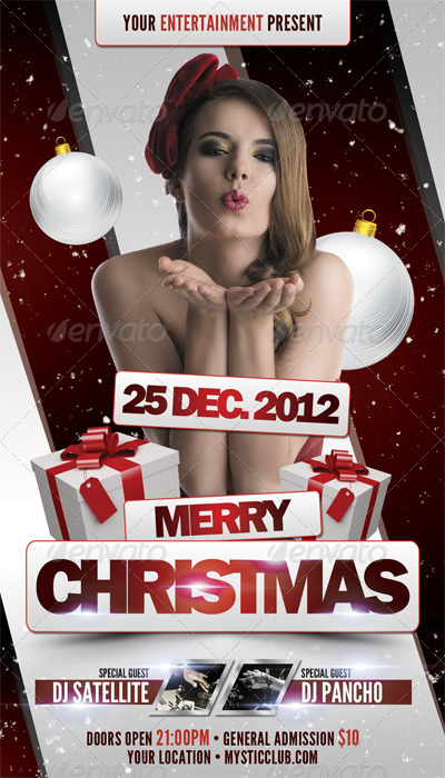 X-Mas Flyer Template Vol.2