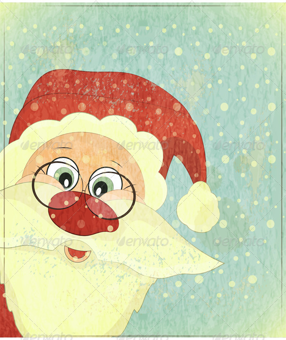 Christmas Cards with Santa Claus - Christmas Seasons/Holidays