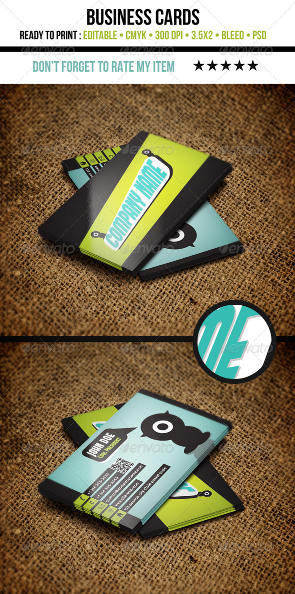Cool Business Cards - Creative Business Cards
