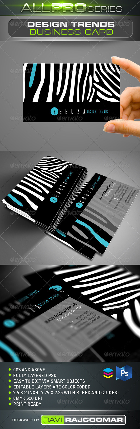 Design Trends Business Card - Creative Business Cards